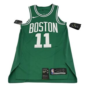 New Nike Authentic Boston Celtics Kyrie Irving Jersey 863015-316 Size 40 Small