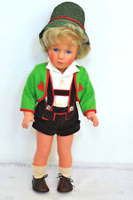 "Vintage 1960s 15"" Kathe Kruse Hansel Doll Modell 40 Original Fully Marked VGC!"