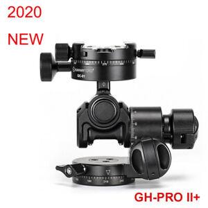 SunwayFoto GH-PRO II+ Geared Head Panoramic Tripod Head for Camera Lose Weight
