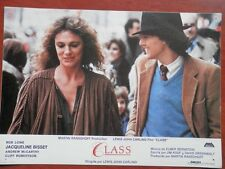 4 LOBBY CARD CLASS CON JACQUELINE BISSET Y CLIFF ROBERTSON
