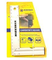 "6"" STEEL TRI SQUARE TRY MEASURE WITH LEVEL CARPENTER ENGINEERS MEASURING 150MM"