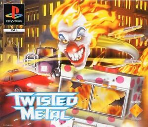 - Twisted Metal PS1 Replacement Box Art Case Insert Cover Only