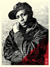 Chuck D Red Obey Giant Shepard Fairey Art Print Wrong Path Welcome Visitor