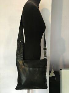 RADLEY BLACK CROSS BODY & MESSENGER WOMENS LADIES GENUINE LEATHER BAG HANDBAGS