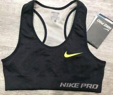 Nike Pro Crop Top Sports Bra Limitless Bra 506409-010 Base Layer X-Small