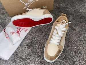 Brand New Christian Louboutin Size 7 Men's Eu 41 Authentic Shoes Trainers