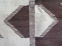 Navajo Rug Transitional CHURRO Blanket OPTICAL MIRROR Native American HANDSPUN