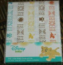 Disney Baby Lion King CIRCLE OF LIFE Fitted Crib or Toddler Sheet