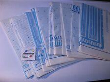 Vector Prototype Card Plug-Board Work Sheets Assorted Original Blue Print - Lot