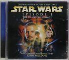 STAR WARS EPISODE 1 THE PHANTOM MENACE SOUNDTRACK CD JOHN WILLIAMS ALBUM VINTAGE