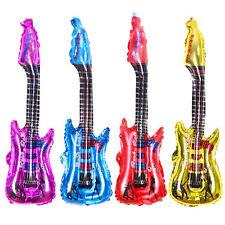 2/4x85*30cm inflable guitarra instrumento musical juguete fiesta de cumpleañosSE