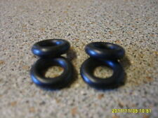 DINKY CARS / VANS 1950s 1960s X4 SMOOTH  THREAD  TYRES 15mm  NEW REPLACEMENTS