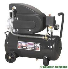 Sealey Tools SAC2420E Air Compressor 24 Litre 24L Direct Drive 2HP 230V New