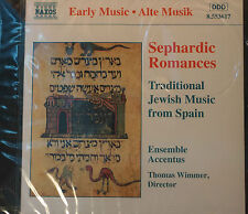 Rare Sephardic Romances CD Early Music from Spain With Ensemble Accentus Wimmer