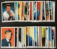 1960 Leaf Confectionery Numbered Famous Artistes Gum Cards (Pop/TV/Movie Stars)
