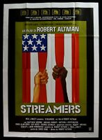 Werbeplakat Streamer Robert Altman David Rabe Matthew Modine David Grier M302