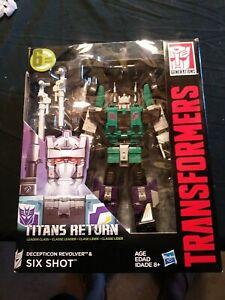 Transformers titans return sixshot