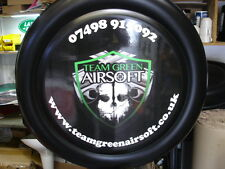 LAND ROVER DEFENDER PERSONALIZED SPARE WHEEL COVER ANY PICTURE 4X4