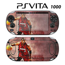 Vinyl Decal Skin Sticker for Sony PS Vita PSV 1000 Dwyane Wade Heat