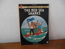 TINTIN en ANGLAIS the red sea sharks   mammoth edition