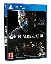 Mortal Kombat XL   playstation 4  PS4