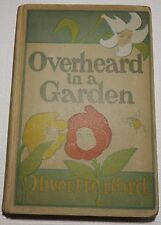 Overheard in a Garden by Oliver Herford 1st Edition 116 Yr Old Vintage Book
