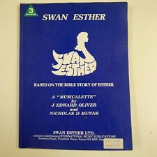 VOCAL SCORE Swan Esther Edward Oliver/Nicholas munns