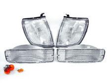 DEPO Clear Corner + Bumper Signal Light + Bulb For 1996-1998 Toyota 4Runner SR5