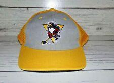 Vintage Pittsburgh Penguins Hockey Trucker Snapback Cap Hat