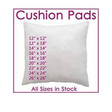 """Hollowfibre Cushion Pads, Inserts, Fillers, Inners  12"""" 14""""16""""18""""20"""" 22"""" 24"""""""