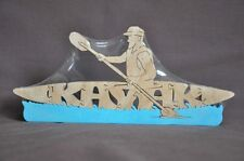 Kayak Wood Amish Made Animal Toy Boat Puzzle Made in USA