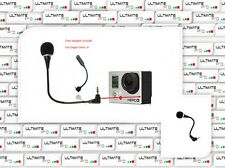 Microphone kit compatible GOPRO hero 3 black silver + plus accessory adapter go