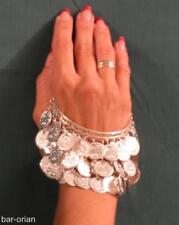 Belly Dance Costume Silver Bracelet Tribal Bangle Armlet Armband *FREE SHIPPING*