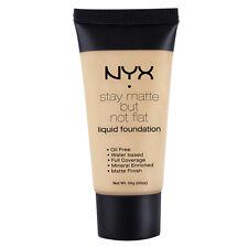NYX Stay Matte But Not Flat Liquid Foundation 1.18 oz color SMF06 Medium Beige