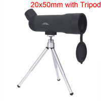 20x50 Zoom Monocular Telescope Night Version Spotting Scope With Portable Tripod