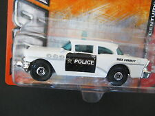 Matchbox '56 Buick Century Police Car MBX Heroic Rescue 60 Year Anniversary Card