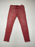 LEVI'S Skinny Legging Jeans - W29 L30 - Pink - Great Condition - Women's
