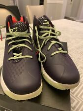 Under Armour Stephen Curry 3 SC Sneakers Shoes Size 11 Mens Purple Green Sneaker
