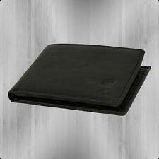 Religion Echtleder Geldbörse Embossed Wallet schwarz Portemonnaie Geldbeutel