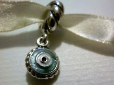 100% Autentico Pandora RARA smobilizzato BLU SMALTO Evil Eye Charm - 790529eb