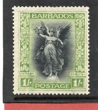 Barbados GV 1920-21 1s black & brt. green sg 209 H.Mint