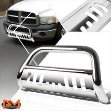 For 02 09 Dodge Ram 1500 3500 Truck 3tubing Bull Bar Bumper Grille Guard Chrome Fits 2005 Dodge Ram 1500
