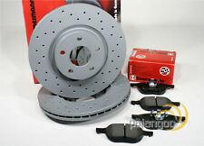 Ford Focus III - zimmermann Deporte Frenos Perforado Pastillas Para Eje