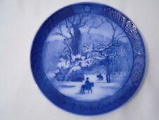 1967 Royal Copenhagen Christmas Plate The Royal Oak Mint Condition