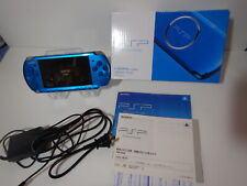 Sony Playstation PSP 3000 Console Vibrant Blue Very good condition BOXED  W/8GB