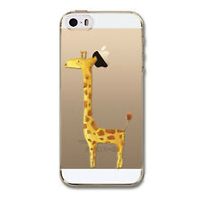 Kritzel Case iPhone 5 5s SE Schutz Hülle Soft Cover Tasche Motiv Slim Bump #422
