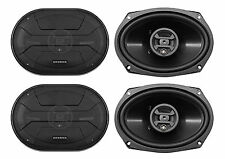 "(4) Hifonics ZS693 6x9"" 1600 Watt Car Audio Coaxial Speakers"