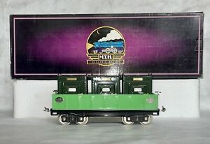 MTH 10-1074 Tinplate Traditions Standard Gauge No. 212 Gondola W/ Containers