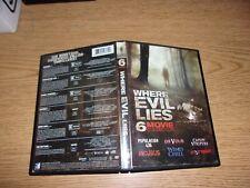 Where Evil Lies: Horror 6-Pack (DVD, 2014, 2-Disc Set)