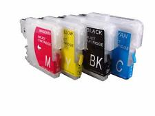 Compatible LC980 CMYK Set Ink Cartridges LC980VALBPRF for Brother MFC-290C